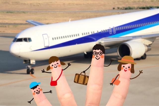 子連れ飛行機