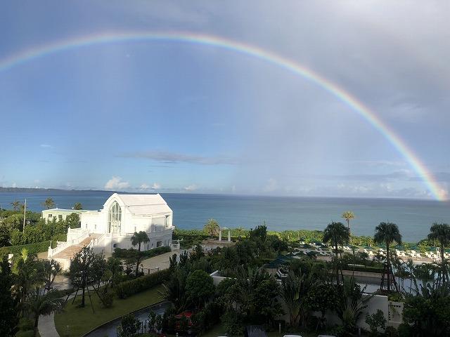 ホテルモントレ沖縄の虹