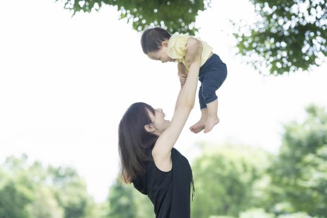 赤ちゃんと散歩