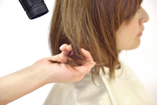 髪の毛パサパサ