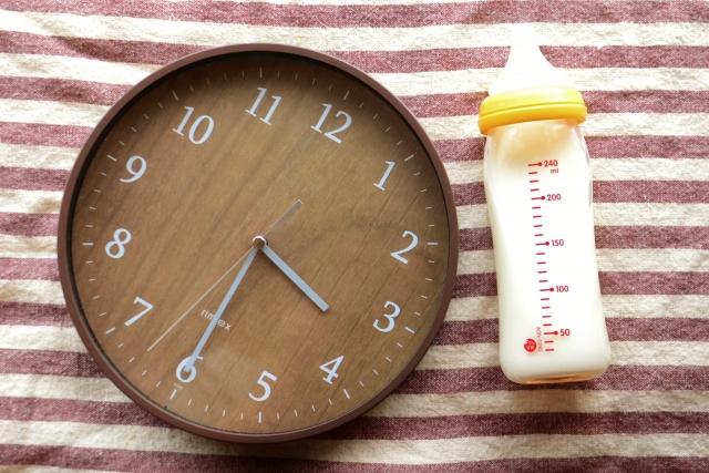 ミルクの時間