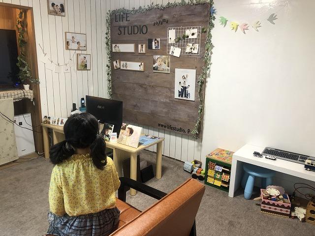 ライフスタジオ青山の控室