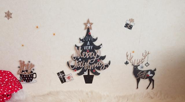 クリスマスウォール飾り