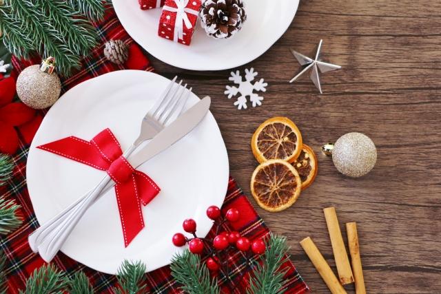 クリスマスの食事