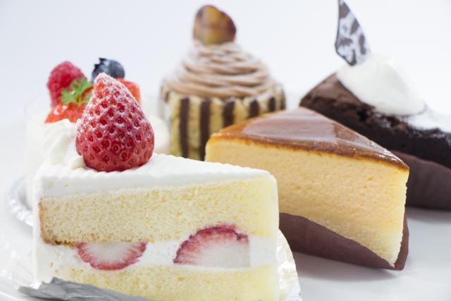 ケーキの保存
