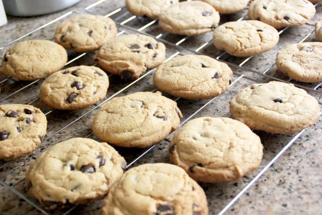 クッキーの粗熱処理