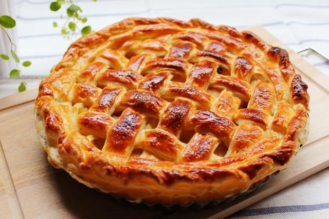 手作りアップルパイ